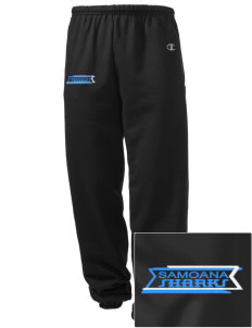 samoana high sharks Embroidered Champion Men's Sweatpants
