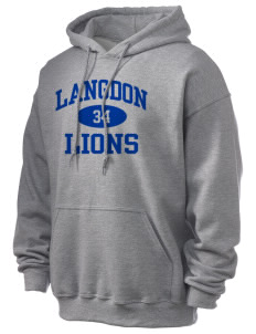 Langdon Elementary School Lions Ultra Blend 50/50 Hooded Sweatshirt