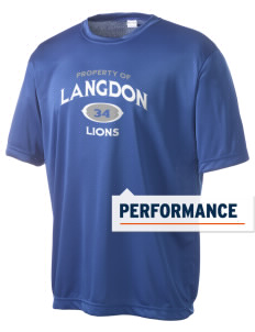 Langdon Elementary School Lions Men's Competitor Performance T-Shirt