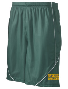 "Riverside Elementary School Raccoons Men's Pocicharge Mesh Reversible Short, 9"" Inseam"