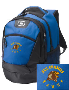 Neil Cummins Elementary School Hawks Embroidered OGIO Rogue Backpack