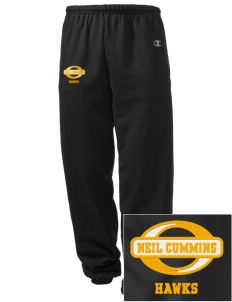 Neil Cummins Elementary School Hawks Embroidered Champion Men's Sweatpants