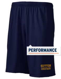"Sutton Elementary School Cheetahs Holloway Men's Performance Shorts, 9"" Inseam"