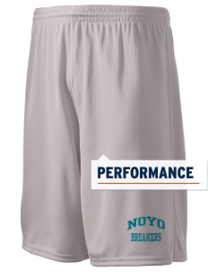 "Noyo High School Mustangs Holloway Men's Speed Shorts, 9"" Inseam"
