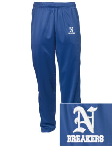 Noyo High School Mustangs Embroidered Men's Tricot Track Pants