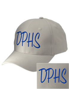 Dos Palos High School Broncos Embroidered Low-Profile Cap