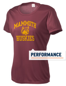 Mammoth High School Huskies Women's Competitor Performance T-Shirt