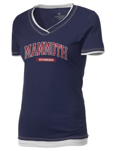 Mammoth High School Huskies Holloway Women's Dream T-Shirt