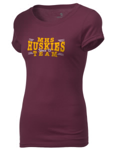 Mammoth High School Huskies Holloway Women's Groove T-Shirt