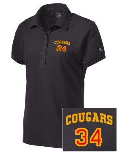 Brea Country Hills Elementary School Cougars Embroidered OGIO Women's Jewel Polo