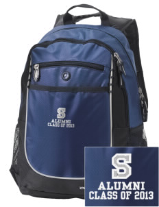 Shorecliffs Middle School Seahawks Embroidered OGIO Carbon Backpack