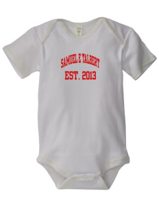 Samuel E Talbert Middle School Thunderbirds Baby Zig-Zag Creeper