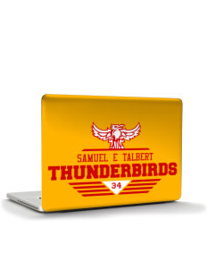 "Samuel E Talbert Middle School Thunderbirds Apple MacBook Air 13"" Skin"