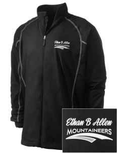 Ethan B Allen Elementary School Mountaineers Embroidered Men's Nike Golf Full Zip Wind Jacket