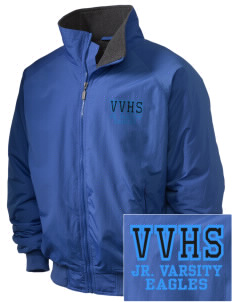 Valley Vista High School Eagles Embroidered Holloway Men's Tall Jacket