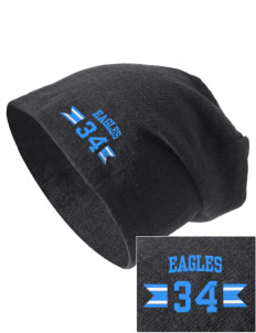 Valley Vista High School Eagles Embroidered Slouch Beanie