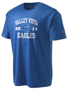 Valley Vista High School Eagles Champion Men's Tagless T-Shirt