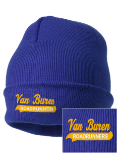 Van Buren Elementary School Roadrunners Embroidered Knit Cap