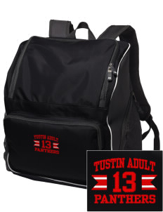 Tustin Adult School Panthers Embroidered Holloway Backpack