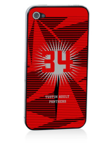Tustin Adult School Panthers Apple iPhone 4/4S Skin