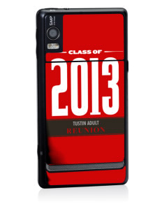 Tustin Adult School Panthers Motorola Droid 2 Skin