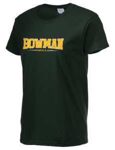 Bowman Elementary School Bulls Women's 6.1 oz Ultra Cotton T-Shirt