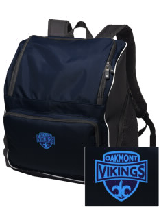 Oakmont High School Vikings Embroidered Holloway Backpack