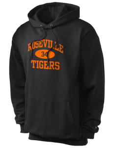 Roseville High School Tigers Champion Men's Hooded Sweatshirt