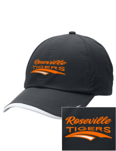 Roseville High School Tigers Embroidered Nike Dri-FIT Swoosh Perforated Cap