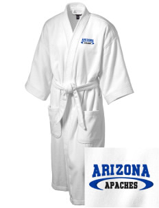 Arizona Intermediate School Apaches Embroidered Terry Velour Robe