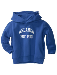 Arlanza Elementary School Explorers  Toddler Fleece Hooded Sweatshirt with Pockets