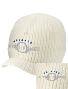 Arlanza Elementary School Explorers Embroidered Knit Beanie with Visor