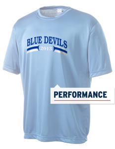 Clay High School Blue Devils Men's Competitor Performance T-Shirt
