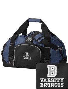 Broadus Elementary School Broncos  Embroidered OGIO Big Dome Duffel Bag