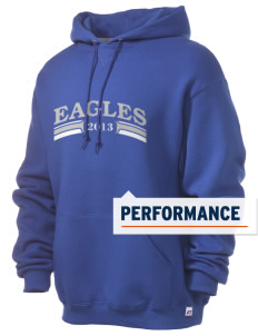 College of Southern Nevada High School Eagles Russell Men's Dri-Power Hooded Sweatshirt