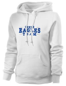 College of Southern Nevada High School Eagles Russell Women's Pro Cotton Fleece Hooded Sweatshirt