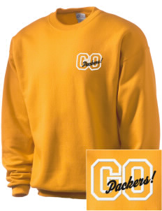 Colquitt County High School Packers Embroidered Men's Crewneck Sweatshirt