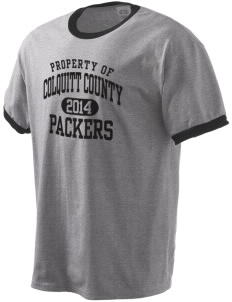 Colquitt County High School Packers Men's Ringer T-Shirt
