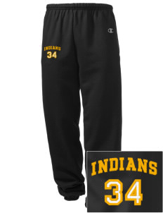 Georgetown Elementary School Indians Embroidered Champion Men's Sweatpants