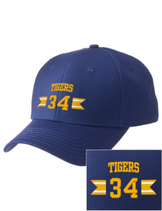 Pachappa Elementary School Tigers  Embroidered New Era Adjustable Structured Cap