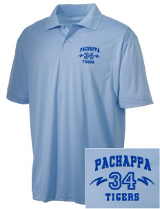 Pachappa Elementary School Tigers Embroidered Men's Micro Pique Polo
