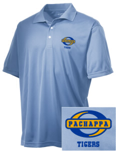 Pachappa Elementary School Tigers Embroidered Men's Double Mesh Polo