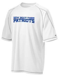 George Washington Elementary School Patriots Champion Men's 4.1 oz Double Dry Odor Resistance T-Shirt