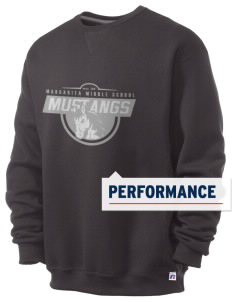 Margarita Middle School Mustangs  Russell Men's Dri-Power Crewneck Sweatshirt