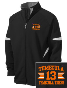 Temecula Elementary School Temecula Tigers Holloway Embroidered Men's Radius Zip Front Jacket