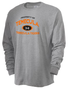 Temecula Elementary School Temecula Tigers  Russell Men's Long Sleeve T-Shirt
