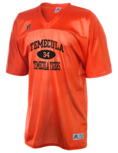 Temecula Elementary School Temecula Tigers  Russell Men's Replica Football Jersey