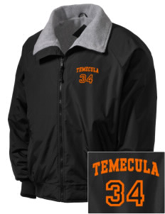 Temecula Elementary School Temecula Tigers Embroidered Men's Fleece-Lined Jacket