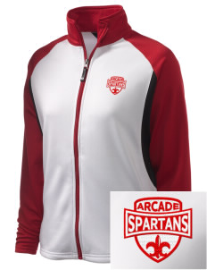 Arcade Middle School Spartans Embroidered Holloway Women's Reaction Tri-Color Jacket