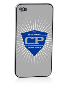 Charles Peck Elementary School Panthers Apple iPhone 4/4S Skin